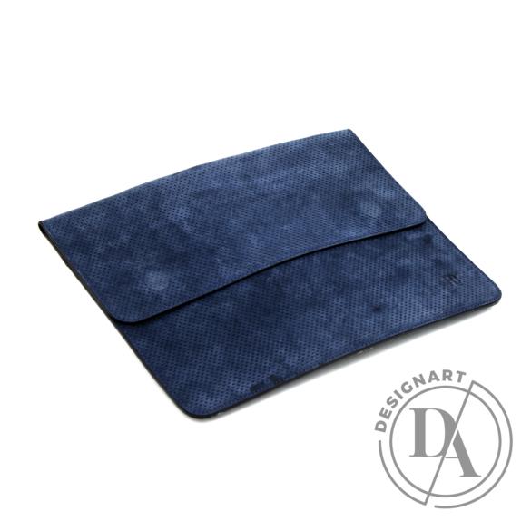 REQU Design: Kék nubuk tok