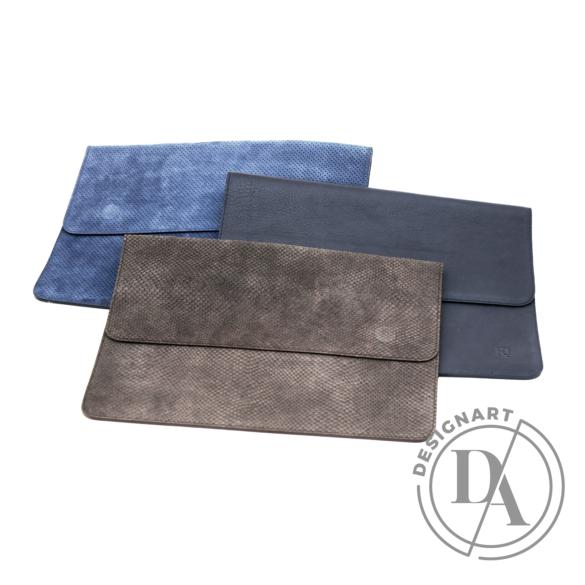 REQU Design: Kék bőr tok