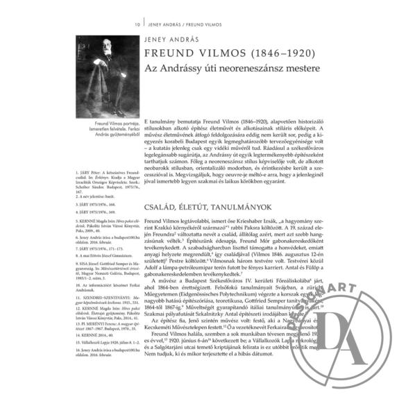 Rozsnyai József (szerk.): Építőművészek a historizmustól a modernizmusig