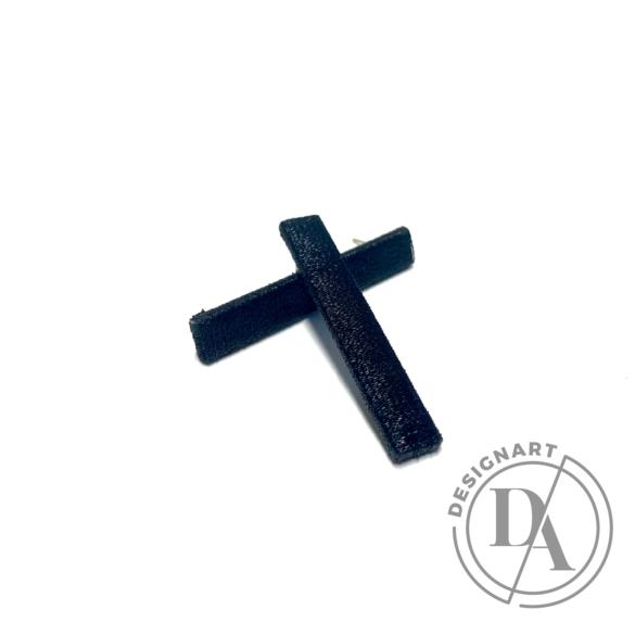 TIA Design: Pálca fülbevaló - fekete