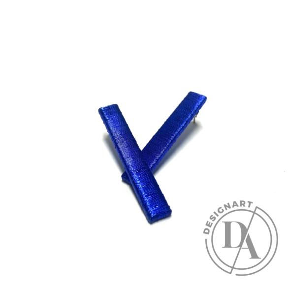 TIA Design: Pálca fülbevaló - kék