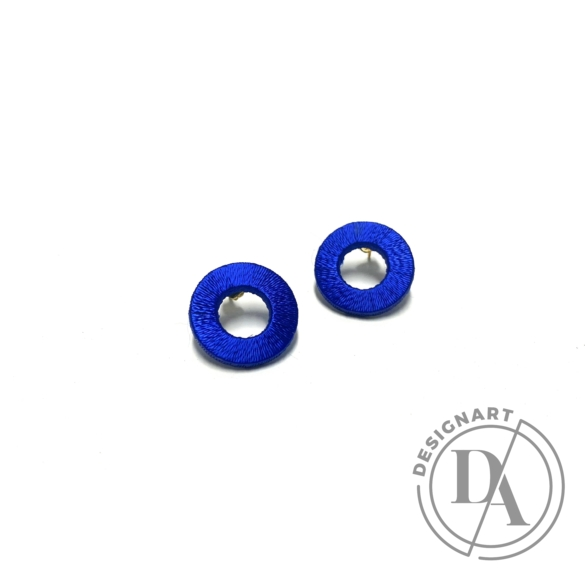 TIA Design: Kör fülbevaló - kék