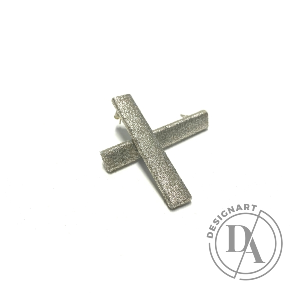 TIA Design: Pálca fülbevaló - ezüst