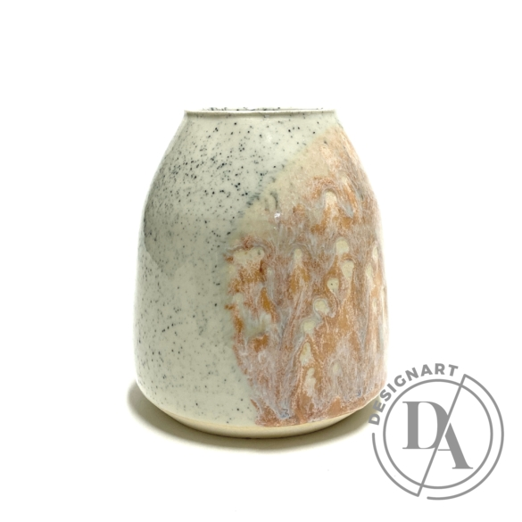 Tiéd: Márványos váza / magasság 11cm