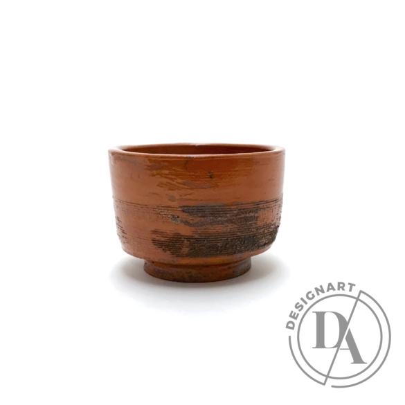 Tiéd: Kis terrakotta csésze n1 / magasság 6cm, ø 9cm