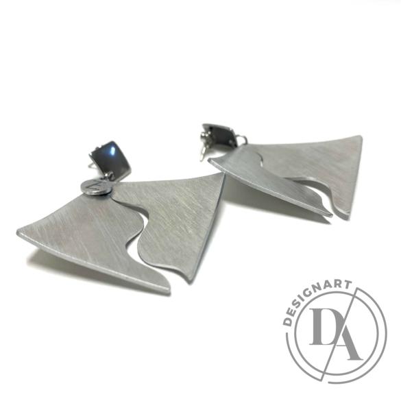 Zemse: Wawes alumínium fülbevaló N.1