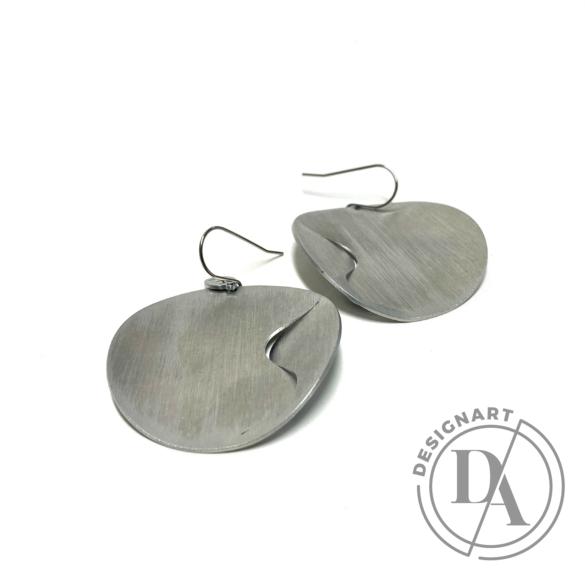 Zemse: Wawes alumínium fülbevaló N3