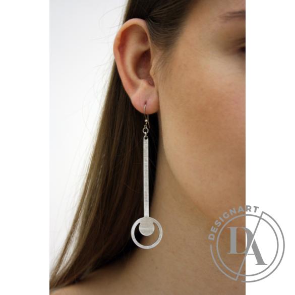 Zemse: Alumínium fülbevaló N5