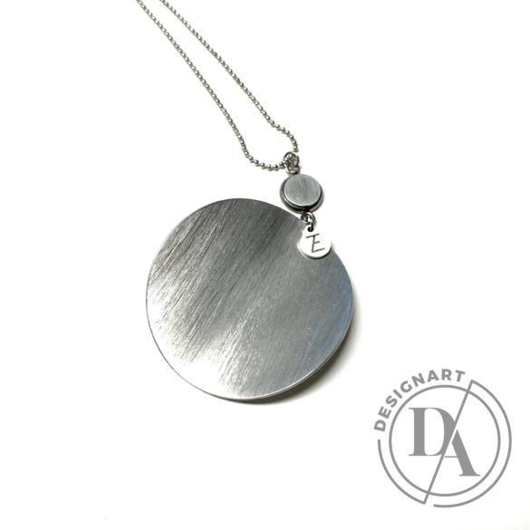 Zemse: Ív alumínium nyaklánc