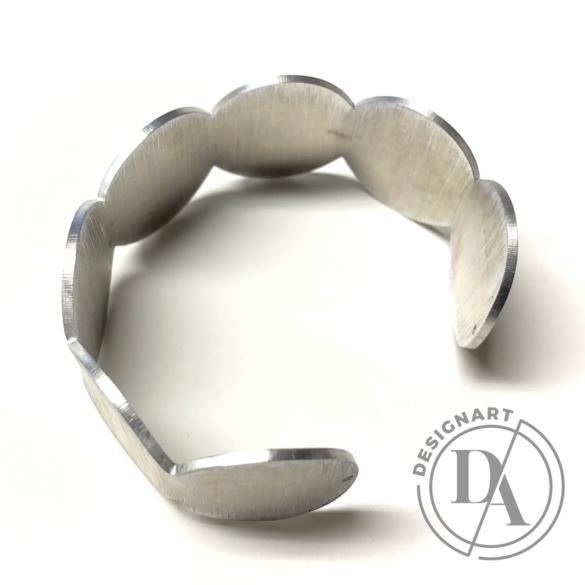 Zemse: Alumínium karkötő N.2