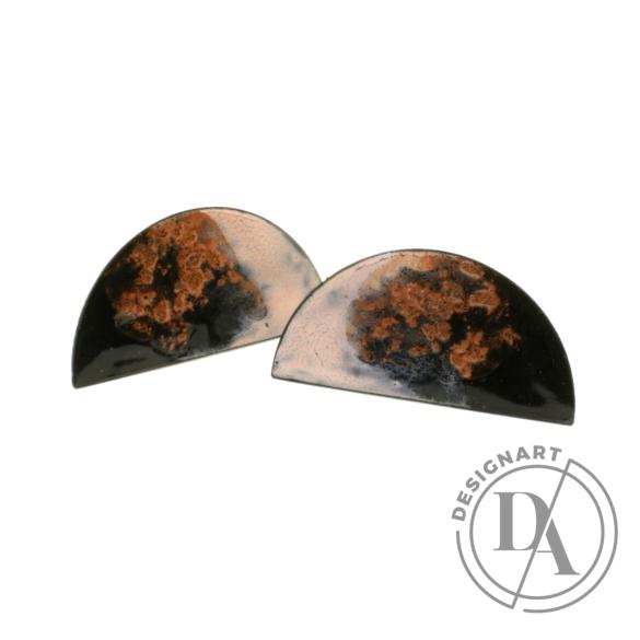 Bakos Natália: Rózsaszín köd Heavenly fülbevaló