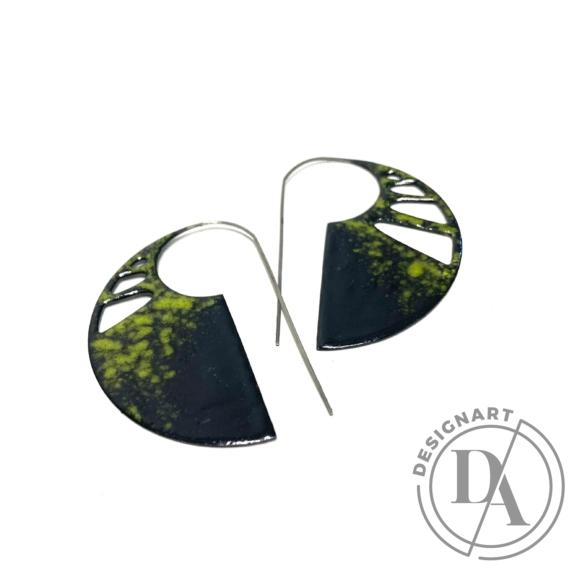 Bakos Natália: Sightly fülbevaló - áttört