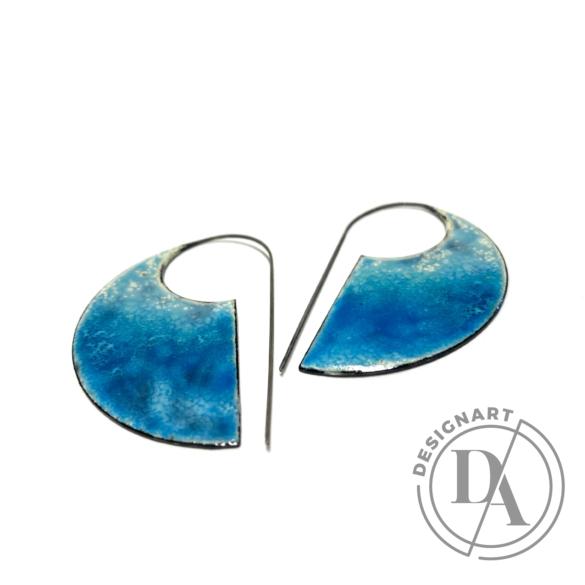 Bakos Natália: Sightly fülbevaló - kék